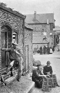 Sheringham Fishermen, early 1900's