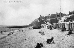 The West beach, Sheringham