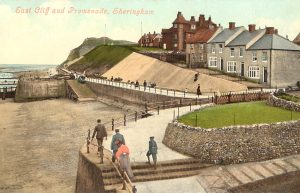 East Cliff and promenade, Sheringham