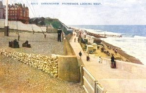 Promenade looking west, Sheringham